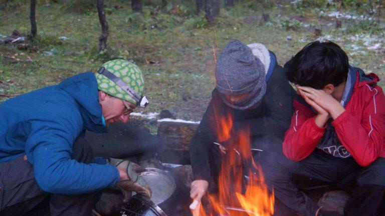 Kochen auf dem Feuer – eine komplexe Geschichte
